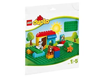 LEGO - 2304 - DUPLO - Jeu de construction - Grande Plaque de Base Verte