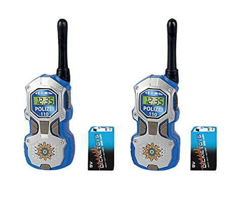 Dickie Toys - 201118181 - Talkies Walkies - Police