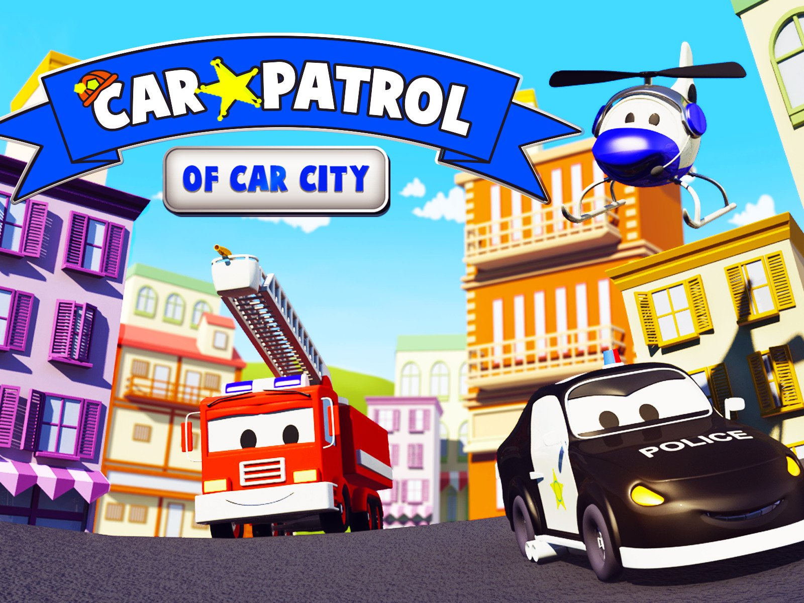 Car Patrol of Car City - Season 3