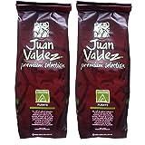 Juan Valdez Cumbre, Fuerte (strong) - Ground Colombian Coffee, Premium Selection, 17.6 oz (8.8 oz - 2pack) (Color: Red)