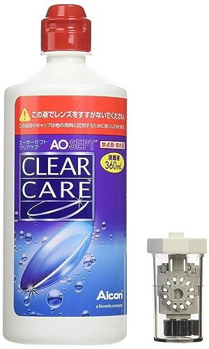 CLEAR CARE 隐形眼镜消毒液 360ml×6支