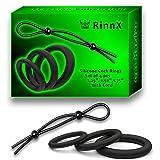 Set of 4 pcs° Premium Quality Silicone Exercise ßands - Super Soft Massage Men Rings