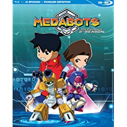 Medabots Season 2 English Dubbed SDBD [Blu-ray]