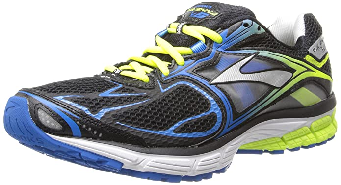 Brooks Ravenna 5 Men's Running Shoes 110156-1D-048 Size 9 D (Standard Width) Black/Brilliant Blue/Nightlife
