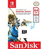 SanDisk 64GB microSDXC UHS-I card for Nintendo Switch - SDSQXAT-064G-GN6ZA (Tamaño: 64GB)