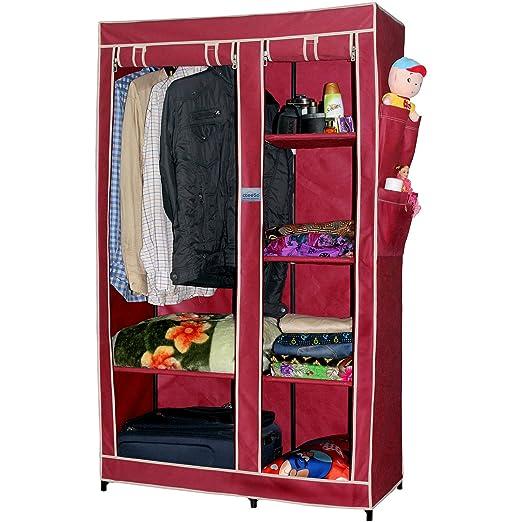 CbeeSo Portable Metal Frame Wardrobe Closet: Amazon.in: Electronics