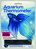 American Thermal Horizontal Aquarium Thermometer