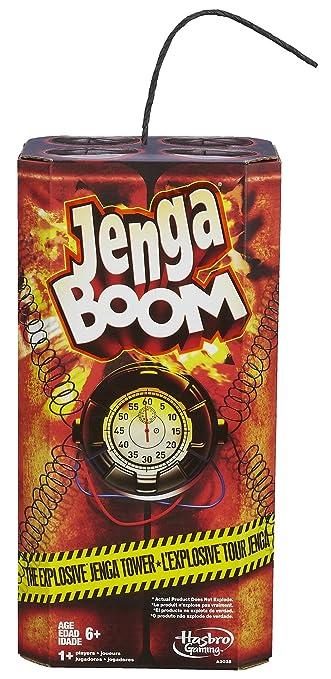Hasbro - A2028E240 - Jeu de Société - Jenga Boom