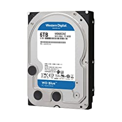 Western Digital 6TB 3.5インチ HDD WD60EZAZ-RT