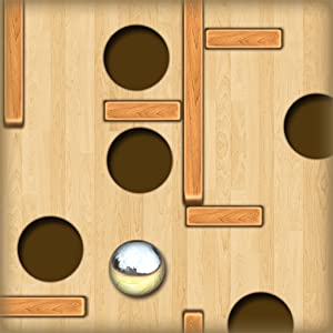 Wood Labyrinth Infinity : The Silver Ball and the deep black holes - Free Edition from Martinternet Inc.