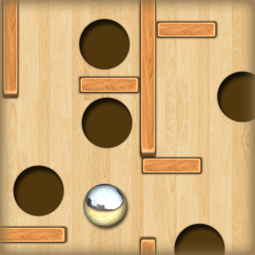 Wood Labyrinth Infinity : The Silver Ball and the deep black holes  Free Edition Picture