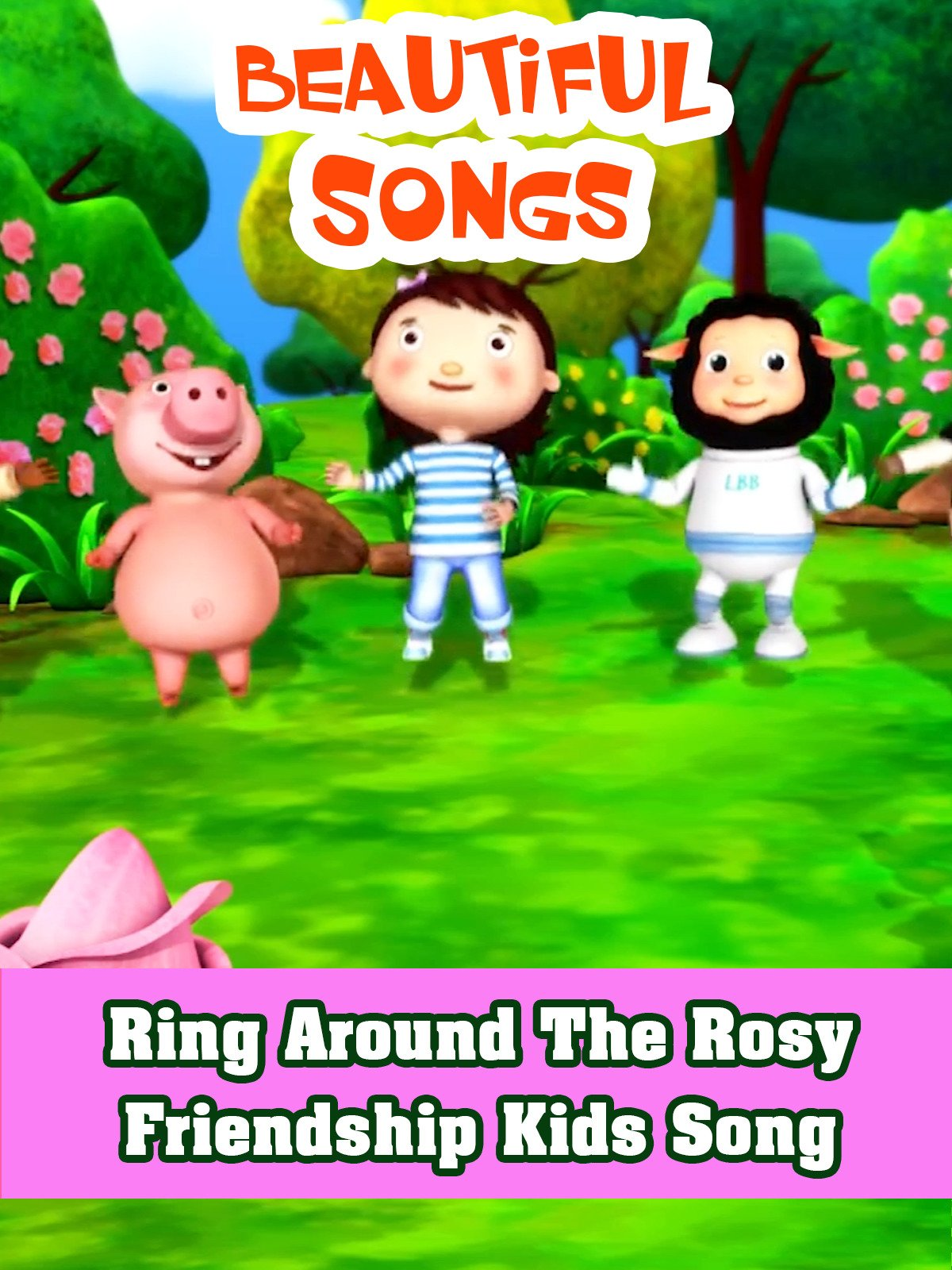 Ring Around the Rosy Friendship Kids Songs