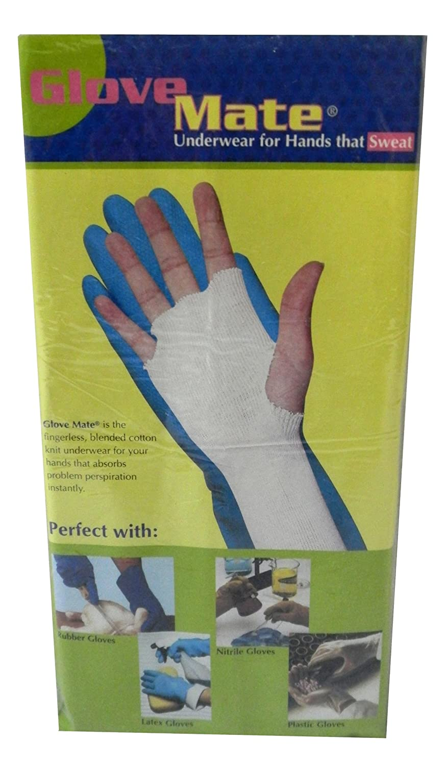 6-PACK Glove Liners - Underwear for Hands that Sweat