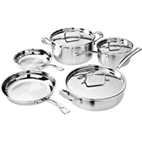 8-Piece Cuisinart MCP-8NW MultiClad Pro Set