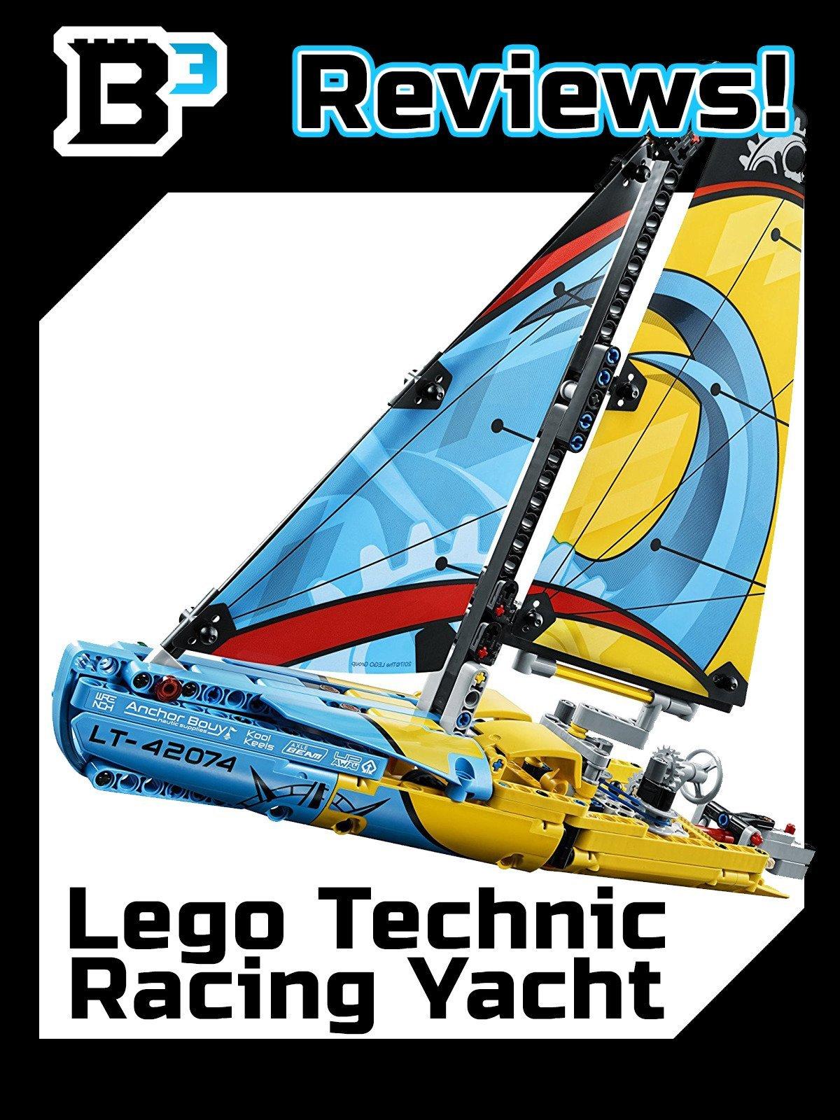 B3 Reviews! Lego Technic Racing Yacht