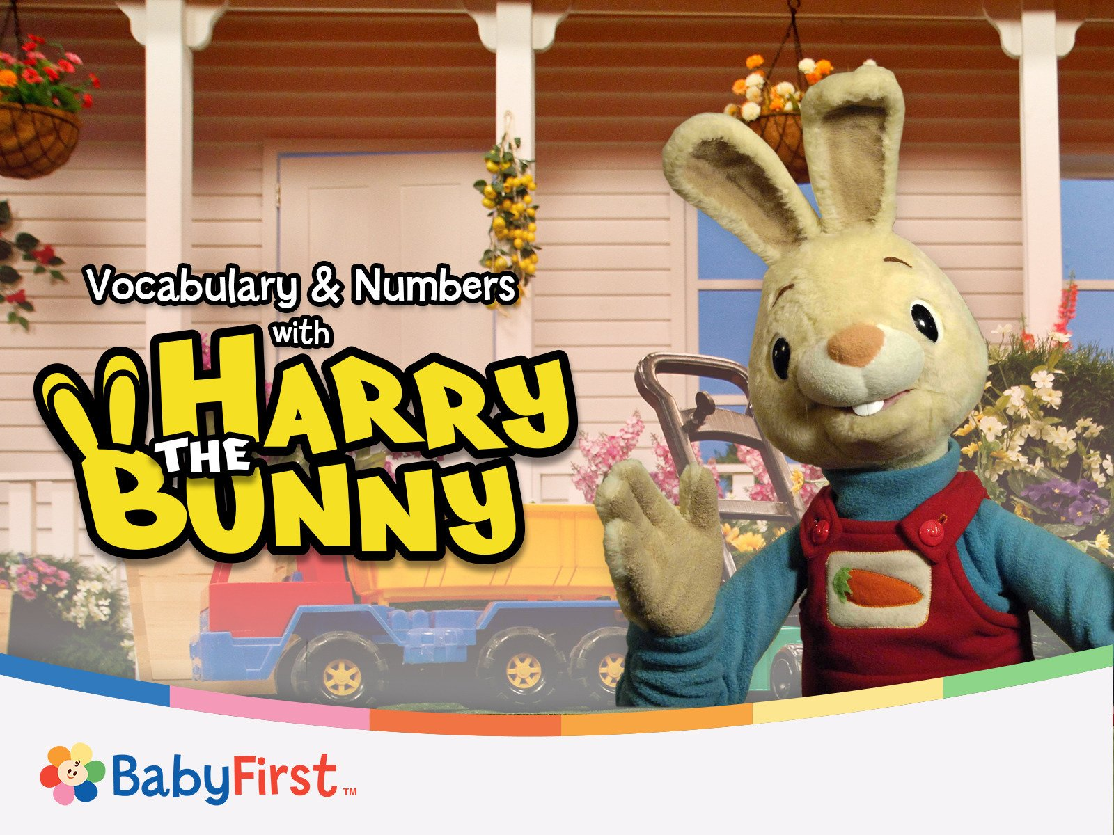 Vocabulary and Numbers with Harry the Bunny and Friends - Season 1