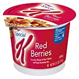 Kellogg's Special K, Breakfast Cereal in a Cup, Red Berries, Bulk Size, 12 Count (Pack of 12, 2.5 oz Cups) (Tamaño: Pack of 12)
