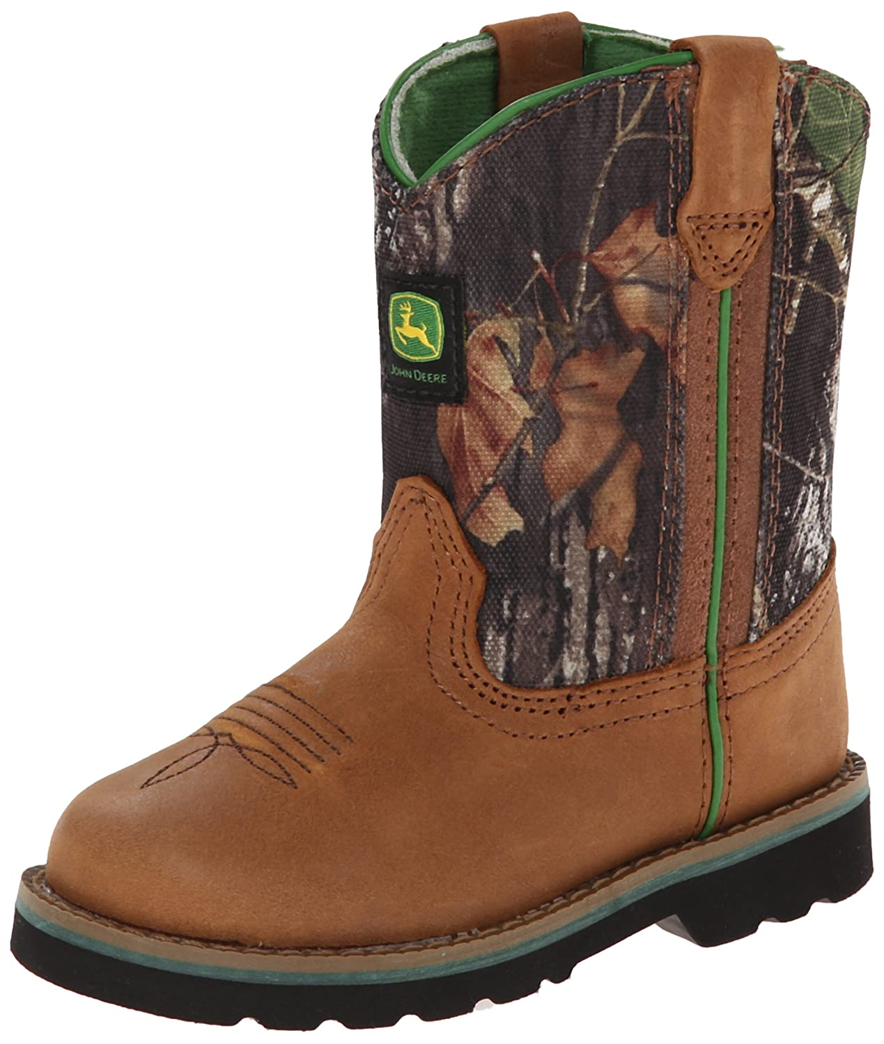 John Deere 1188 Western Boot (Toddler): Johnny Popper Boots