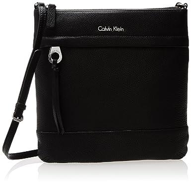 Calvin Klein Black Leather Shoulder Bag 31