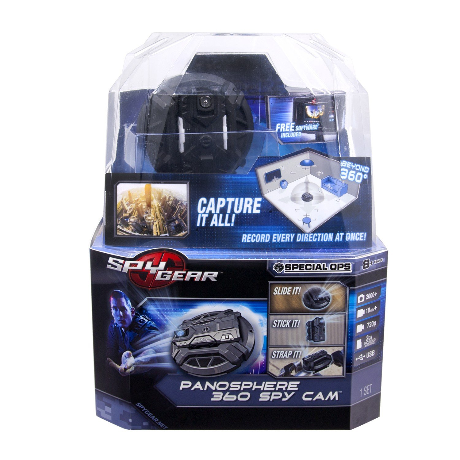 Spy Gear Panosphere 360 Spy Cam