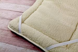 Merino Reversible Mattress Topper 100% Merino Wool THICK , Single size WOOLAMRKED       Customer reviews and more information