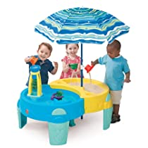 Shady Oasis Sand and Water Play Table