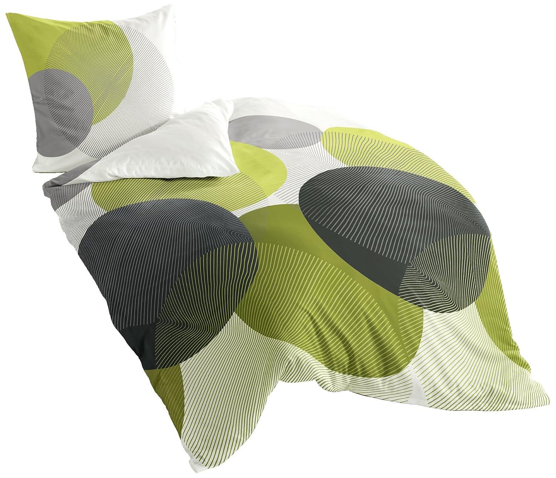 bierbaum 6155 06 mako satin bettw sche 135 x 200 cm und80 x 80 cm kiwi06 n38 9 ebay. Black Bedroom Furniture Sets. Home Design Ideas