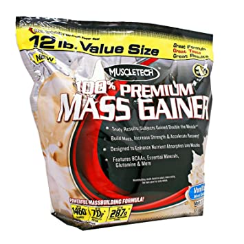 Muscletech 100% Premium Mass Gainer 5,448 kg