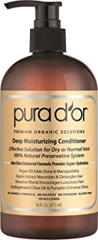 Pura dor Gold Label Moisturizing 16-oz. Conditioner