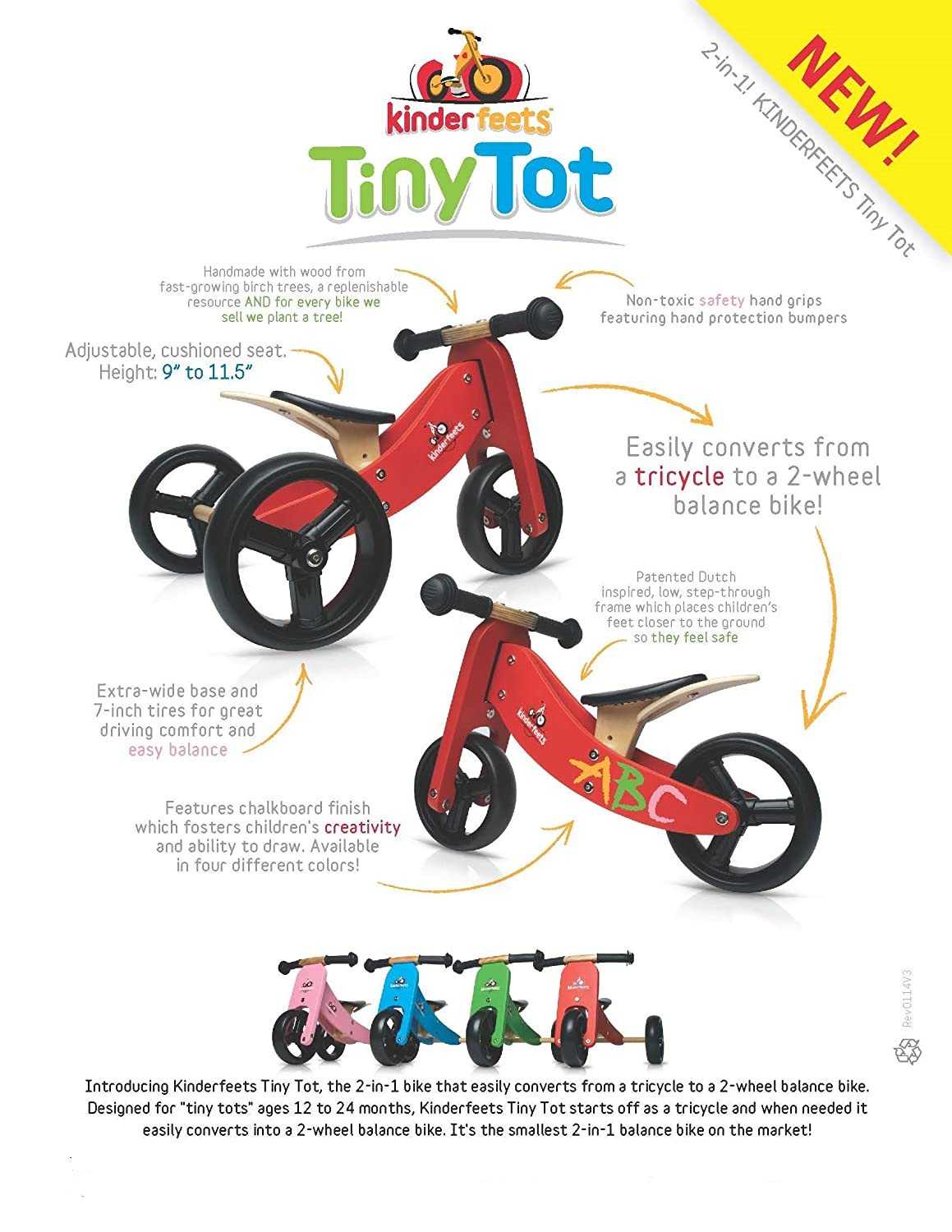 Kinderfeets TinyTot - 2-in-1! Wooden Balance Bike and Tricycle in One. Adjustable Seat. FOR AGES 12 TO 24 MONTHS OLD 800g electronic balance measuring scale with different units counting balance and weight balance