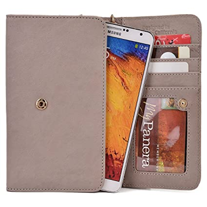 Kroo Xolo Era, Cube 5.0, A1010, Win Q1000, 8 X 1020, Omega 5.0, Opus 3, Q1020, Opus Hd, Play 8 X 1100, Taupe Genuine Leather Wallet With Strap And Coi available at Amazon for Rs.4294
