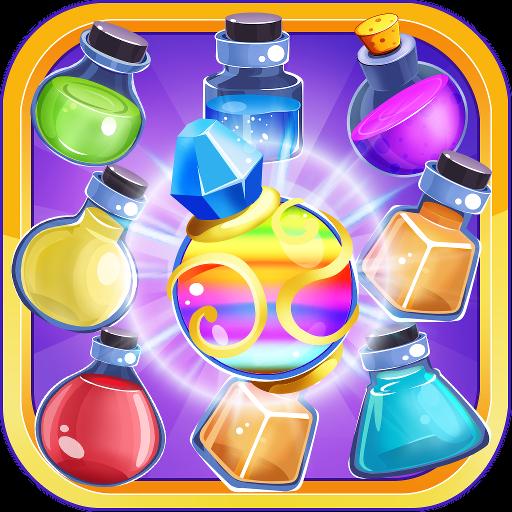 halloween-magic-go-with-witchcraft-match-3-saga-2016-new-free-potion-bubble-mania-blast-classic-puzz