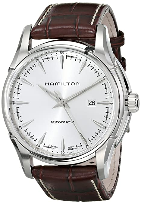 Best watch brands Hamilton Men's H32715551 Jazzmaster Viewmatic Silver Dial Watch