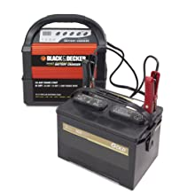Black & Decker VEC1093DBD Smart Battery 40/20/10/4 Amp Battery Charger