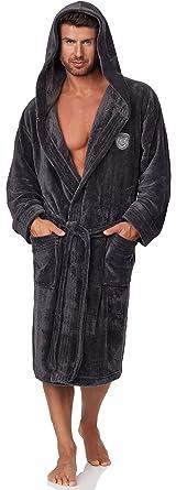 L l peignoir homme avec avec capuche ivo cuisine maison z48 for Peignoir homme capuche
