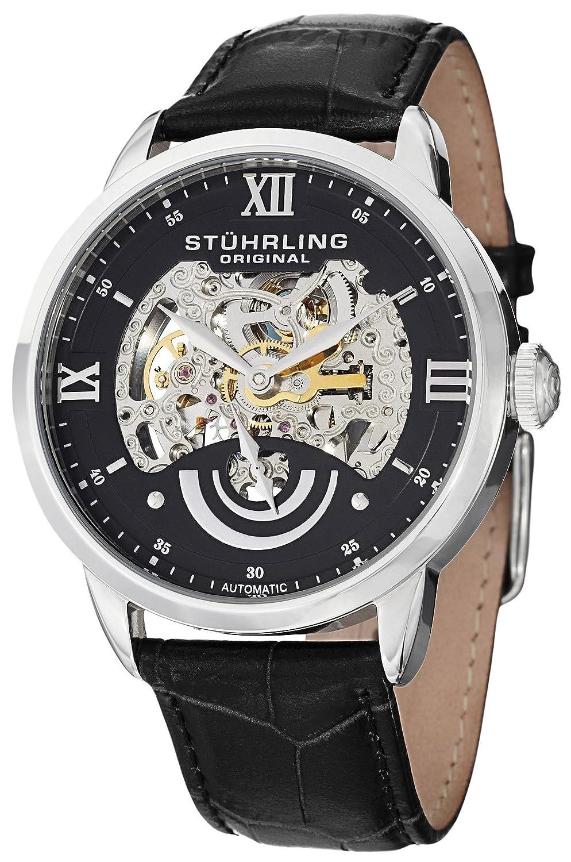 "Stuhrling Original Men\'s 574.02 \""Aristocrat Executive II\"" Stainless Steel Aut..."