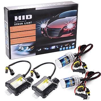 55w hid xenon licht scheinwerfer conversion kit h7 6000k. Black Bedroom Furniture Sets. Home Design Ideas