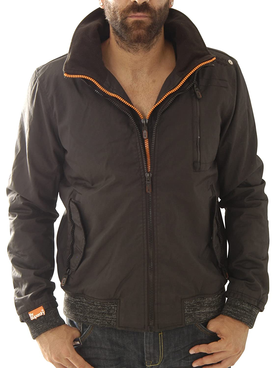 Superdry Herren Jacke Moody Norse Bomber M50lr001f1-02a