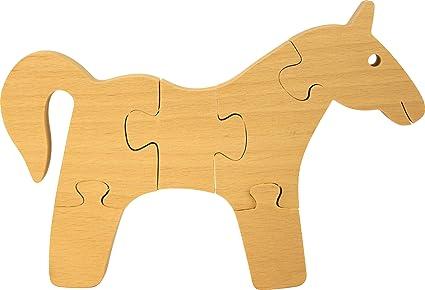 Puzzle enfant colorier puzzle cheval enfant bois 3d for Puzzle a colorier gratuit