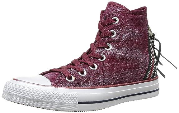 Converse Chuck Taylor All Star Femme Sparkle Wash Tri Zip Hi, Baskets mode femme