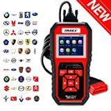 TryAce OBD2 Scanner,OBDII Auto Diagnostic Code Scanner Universal Vehicle Engine O2 Sensor Systems Scanner OBD2 EOBD Scanners Tool Check Engine Light Code Reader for all OBD II Protocol Cars Since 1996 (Color: OBDII Auto Diagnostic Code Scanner, Tamaño: 2.8