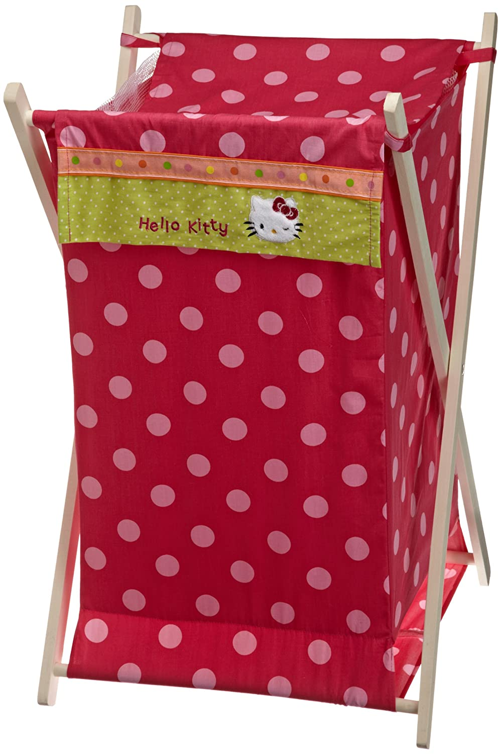 hello kitty garden crib bedding and accessories baby. Black Bedroom Furniture Sets. Home Design Ideas