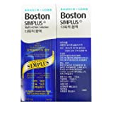 Bausch & Lomb Boston Simplus Multi-Action Solution 4oz(120ml) 2 pack