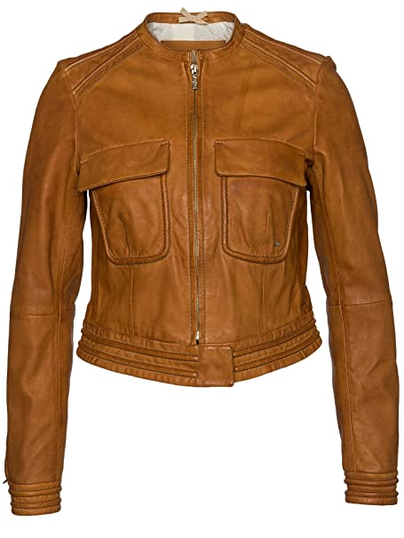 BOSS Orange Lederjacke Jacie 50318178 Damen