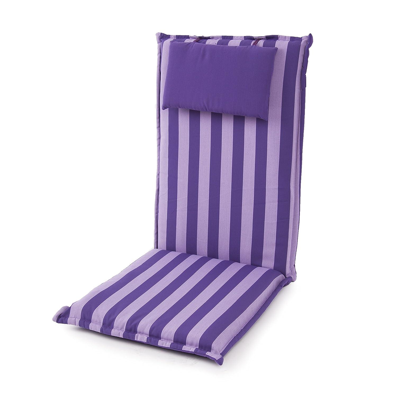 Dajar Stühle und Sessel Auflage Premium Hoch, violett