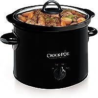 Crock-Pot 3-Quart Manual Slow Cooker (Black)