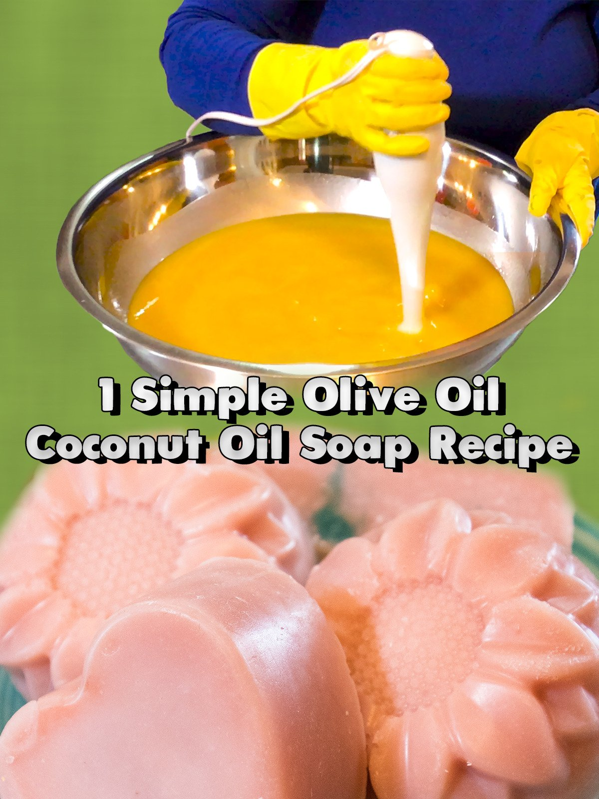1 Simple Olive Oil Coconut Oil Soap Recipe on Amazon Prime Instant Video UK