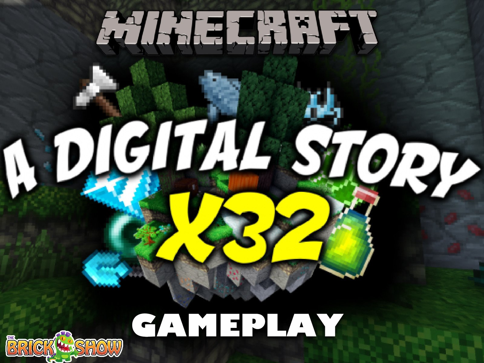 Clip: Minecraft A Digital Story X32 Gameplay