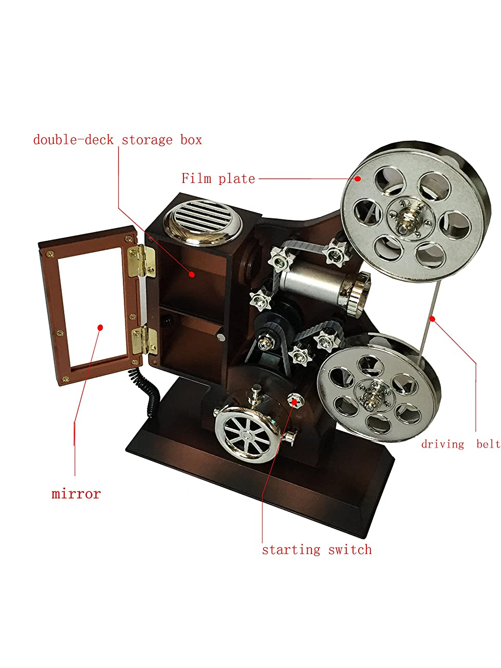 POPgifts Projector Music Box,Delight with Reminiscence 1