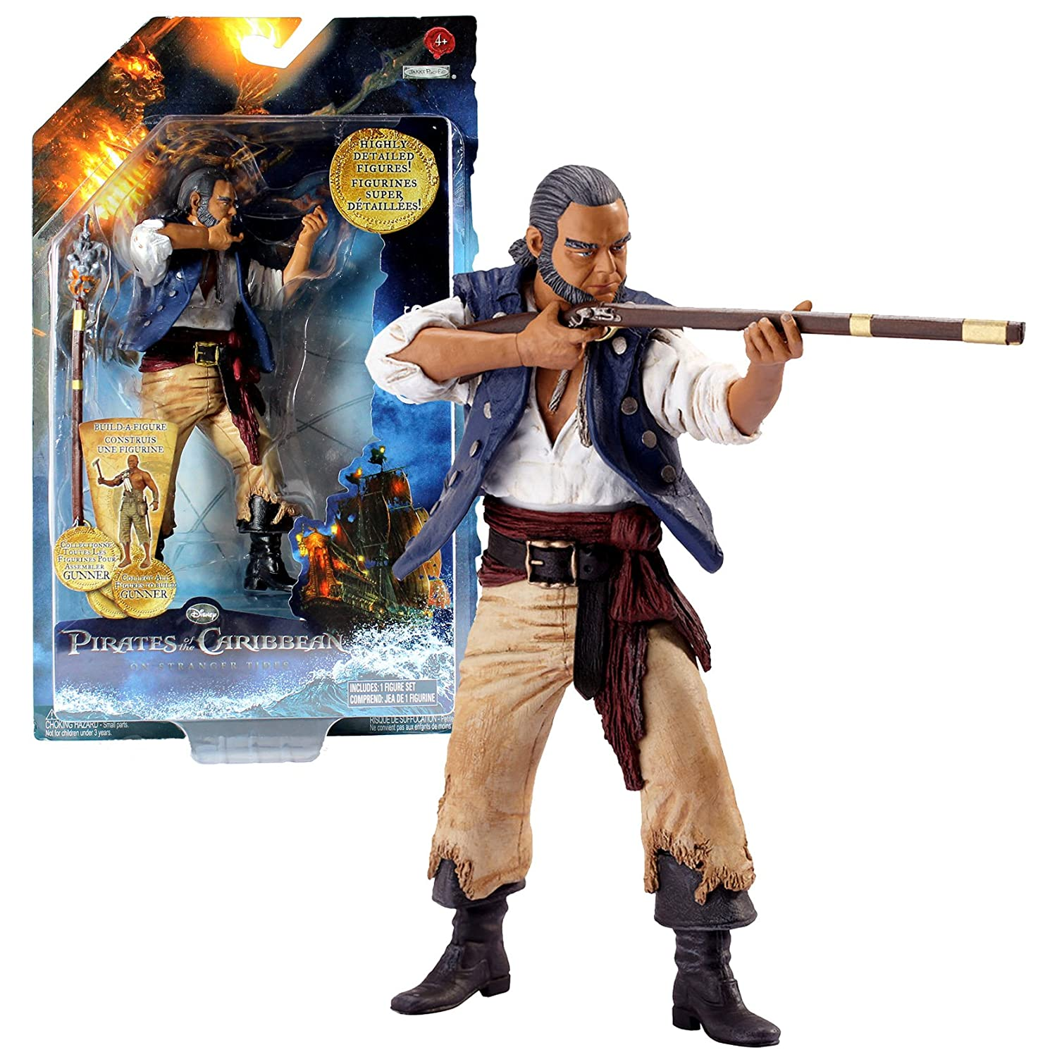 Pirates of the Caribbean On Stranger Tides Series Action Figure - Gibbs